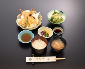 海老天ぷら 定食